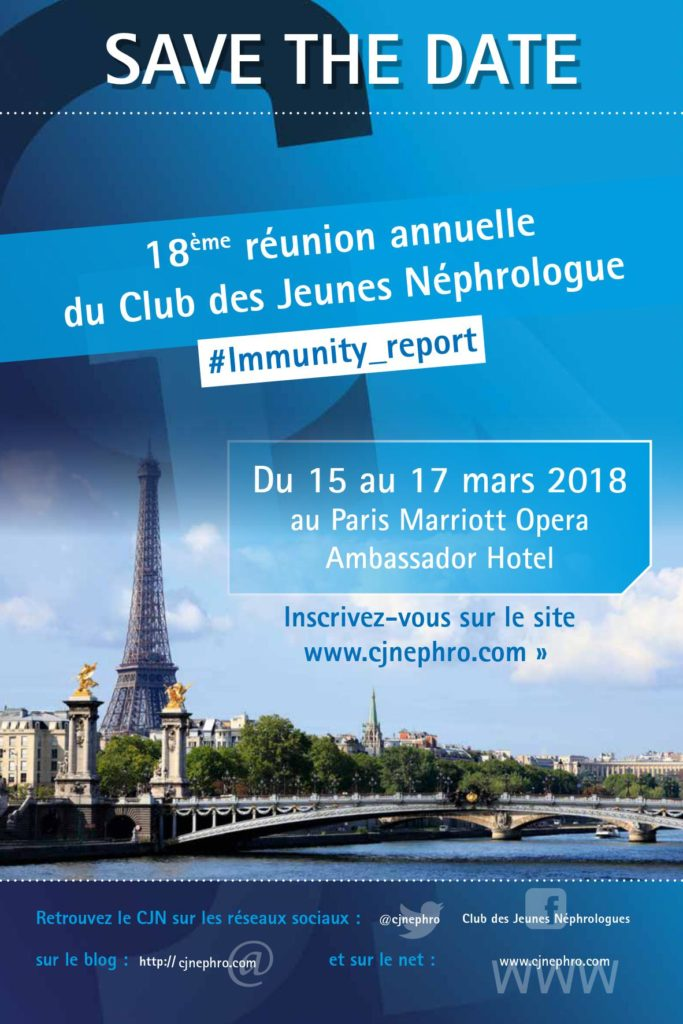 Save the date RA 2018