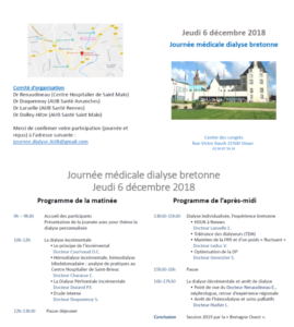 Journée Dialyse Bretonne